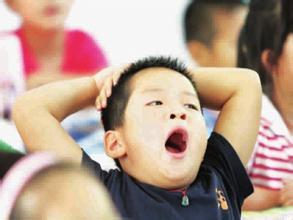 孩子学习压力大可能导致注意力不能集中