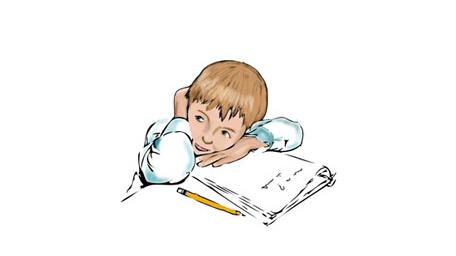 小孩读写困难的表现图片